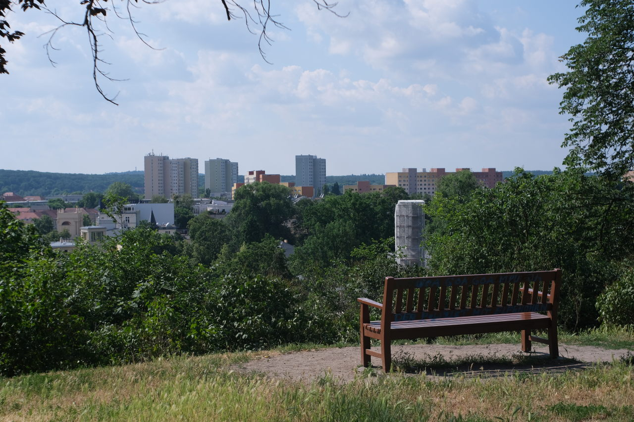a view over Potsdam Germany