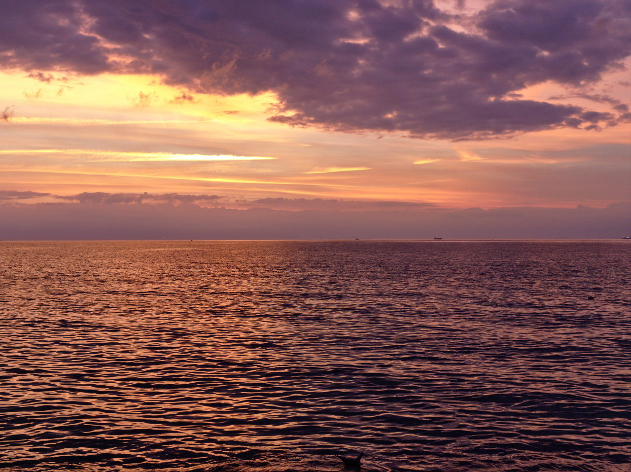 sunset over the baltic sea by Paul Hoppe Photography
